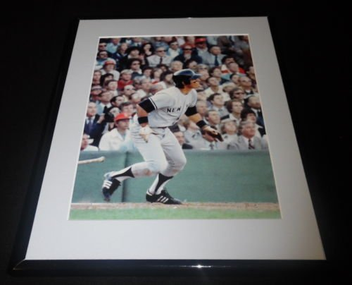 Bucky Dent Framed - Bucky Dent NY Yankees Framed 11x14 Photo Display