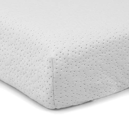 41dktHeoNYL - Clevr Premium Memory Foam Baby & Toddler Crib Mattress With Waterproof Ultra Soft Bamboo Fabric Cover