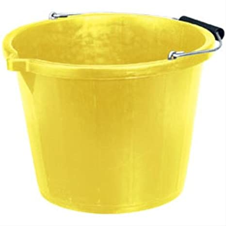 2XContractors Bucket Yellow