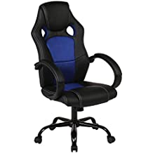 Back Racing Car Style Bucket Seat Office Desk Chair Gaming Chair