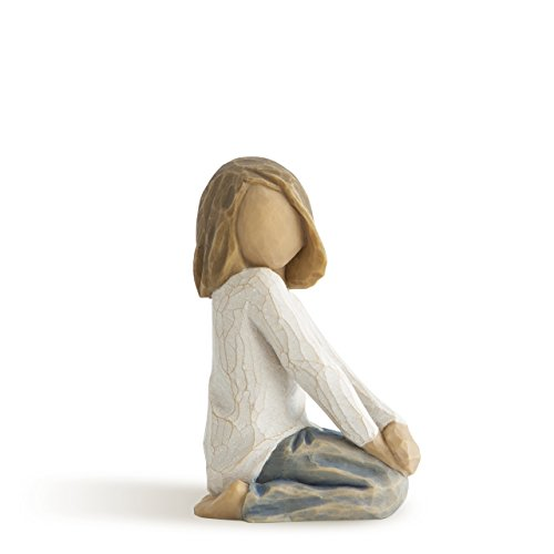 Willow Tree Joyful Child, sculpted hand-painted figure