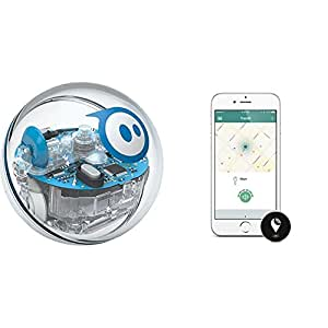 Sphero SPRK+ STEAM Educational Robot and TrackR pixel Black