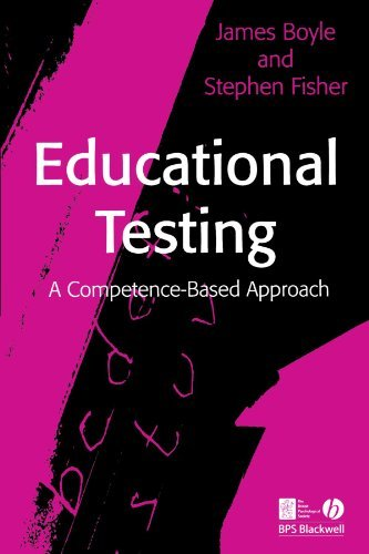 Educational Testing: A Competence-Based Approach