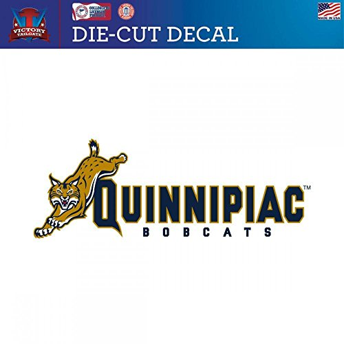- Quinnipiac University Bobcats Die-Cut Vinyl Decal (Approx 6x6)