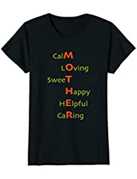 Womens Mothers' Day Acronym Tee, a great gift idea