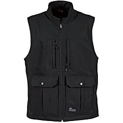 Berne Echo Zero Eight Softshell Vest Black Regular - 4XL
