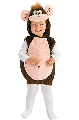 Rubie's Deluxe Baby Monkeyin' Around Costume - Toddler (1-2 Years) ()