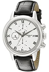 Tissot Men's T0854271601300 Carson Analog Display Swiss Automatic Black Watch