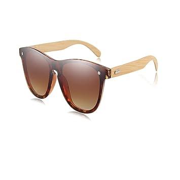 XCTY Gafas De Sol Gafas De Sol De Madera para Mujer Moda ...
