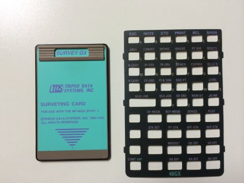 - TDS Survey Card for the HP 48GX