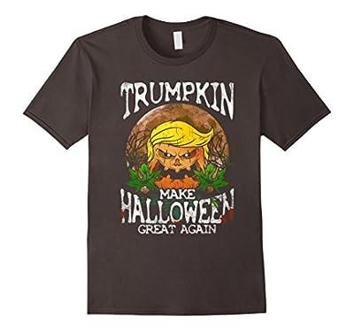 Trumpkin Shirt Make Halloween Great Again Trump T-Shirt Gift