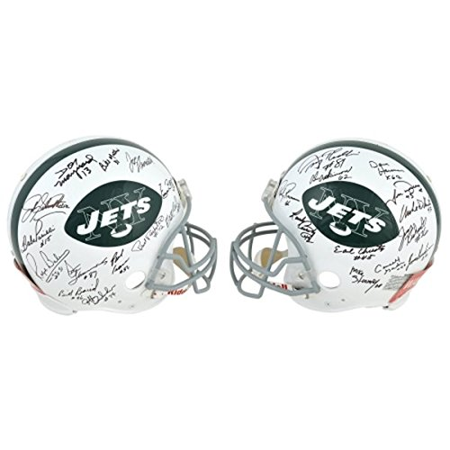 1969 New York Jets 24 Player Team Signed Full Size NFL Football Helmet  JSA  at Amazon s Sports Collectibles Store 5493b98b4