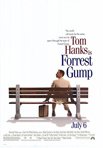 Forrest Gump - Movie Poster (Size: 27'' x 40'') (By POSTER STOP ONLINE)