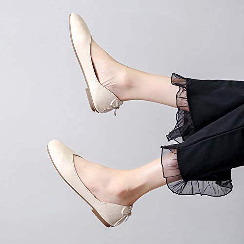 shoes casual ladies shoes office autumn single non Spring slip comfortable C flat and shoes work shoes FLYRCX fashion 8twpz6zq