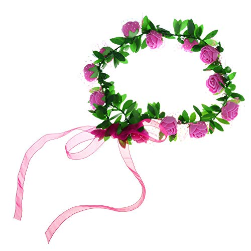 Topgee Sweet Fresh Pearl Flower Branch Lace Hand Knitted Headdress Ladies Bride Jewelry Wedding Season Jewelry Headwear