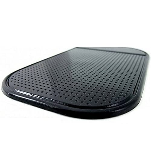 Handycop® Power Anti Rutsch Matte SCHWARZ KFZ Halterung - Antirutschmatte - Autohalterung - Anti Slip Pad - haftet OHNE Klebstoff - abwaschbar