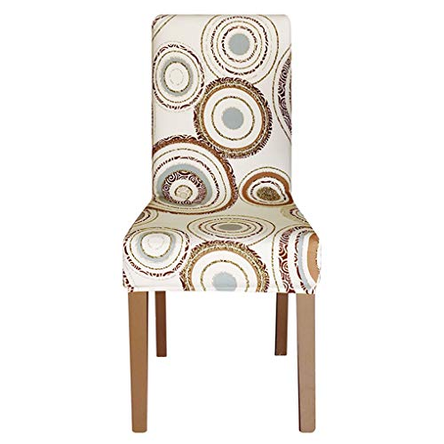 Skirted Chair Slipcover Dining - 2PC Chair Covers Print Stretch Removable Washable Protector Seat Slipcovers Dining Room Hotel Banquet Home Christmas