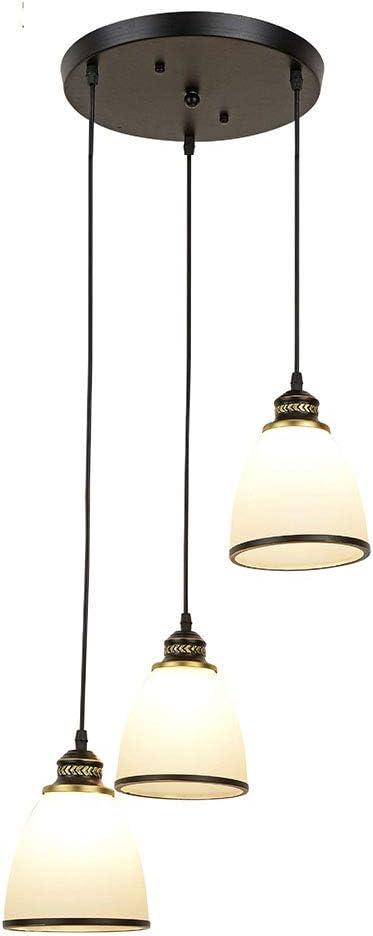 Moderno E27 Lámparas colgantes para mesa de comedor 3-Flames ...