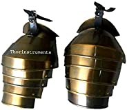 THORINSTRUMENTS (with device) Collectible Gothic Spaulder German Shoulder Brass Antique Finish RECREATIVE Item