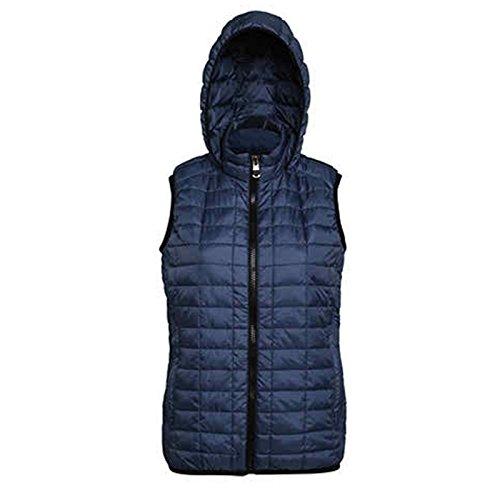 maniche senza blu Cappotto moderno scuro 2786 q8twan