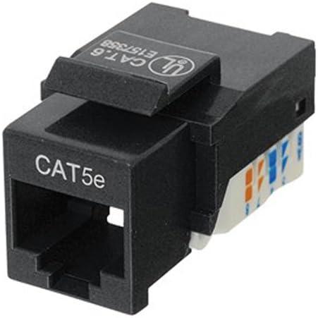 CAT5 RJ45 Keystone Jack Tool Free Black