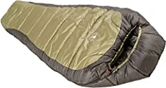 A loaded 0° mummy bag at an unheard of price. The Coleman North Rim 0 Degree Sleeping Bag has all the features you'd expect from a technical sleeping bag.Double batt, offset quilt construction eliminates potential cold spots.Semi sculpted hoo...