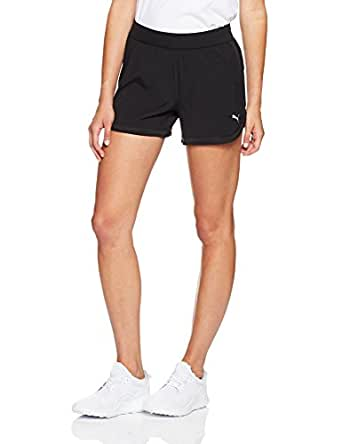 "PUMA Women's Blast 4"" Short W, Black,XS"
