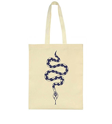 Tote Snake Bag Blue Snake Blue Tote Bag Blue nH67OZ