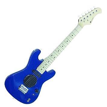Dimavery J-200-E de la guitarra, guitarra eléctrica azul: Amazon.es: Instrumentos musicales