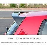 JC SPORTLINE Rear Roof Window Spoiler fits for