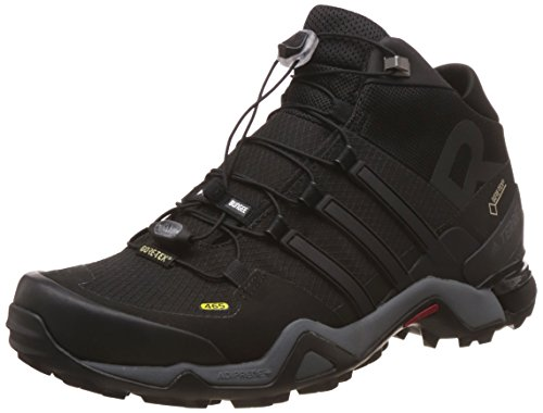 Adidas Terrex Fast R Mid Gtx, Bottes de Randonnée Homme, Noir (Negbas/Negbas/Ftwbla), 44 EU