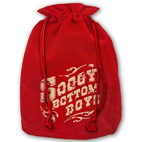 O Brother Where Art Thou Soggy Bottom Boys Christmas Drawstring Bag Gift Bags Santa Sack for Christmas Party Decoration