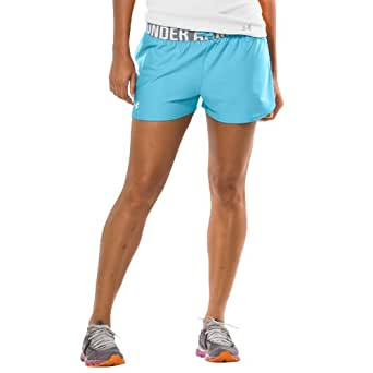 "Women's Play Up 3"" Short Bottoms by Under Armour Extra Large Tobago [Misc.]"