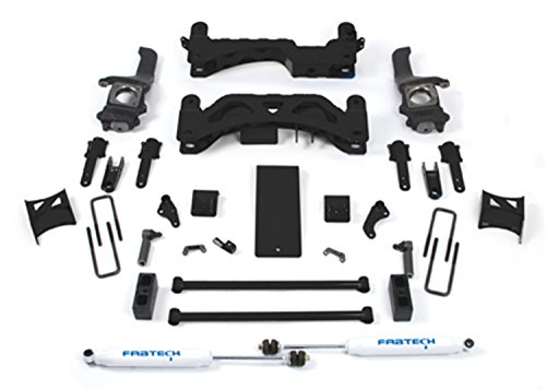 Fabtech K7009 Basic Lift System w/Shocks w/Performance Shocks 6 in. Lift Basic Lift System w/Shocks