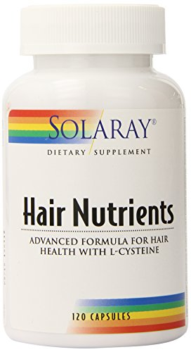 Solaray Hair Nutrients Capsules, 120 Count ()