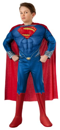 superman+costumes Products : Man of Steel Child's Deluxe Lite Up Superman Costume