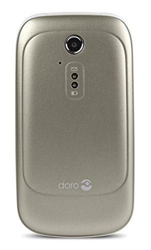 Doro 6520 Champagne/White 2.8″ 3G Unlocked & SIM Free