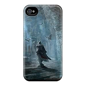 CassidyMunro Iphone 6 Shock Absorption Cell-phone Hard Covers Provide Private Custom Trendy Assassins Creed Iii Skin [txX24326HxIA]