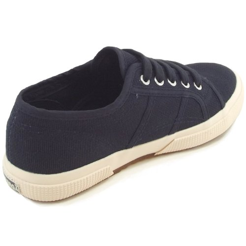 Superga 2750 Junior Cotu Classic S0003C0 Kinder Sneaker Dunkelblau (Navy)