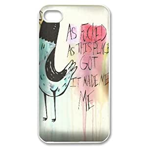 Hjqi - DIY wonder years Plastic Case, wonder years Unique Hard Case for iPhone 4,4G,4S