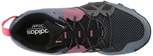 Adidas Utomhus Kvinna Kanadia 8,1 W Trail Löparskor Råstål / Off White / Real Rosa