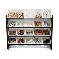 TOT Tutors Collection Wood Toy Storage Organizer
