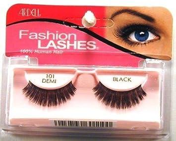 cb2e8211320 Amazon.com : Ardell Fashion Lashes #101 Demi Black (Case of 6) : Fake  Eyelashes And Adhesives : Beauty