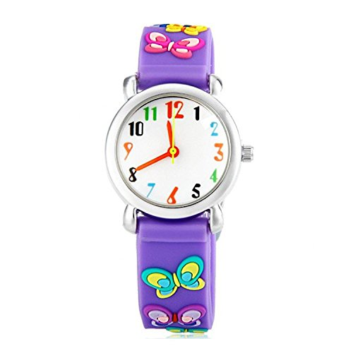 gifts girls cartoon fashion pattern vintage leather watches bicycle watch kids brand casual women wristwatches quartz clock