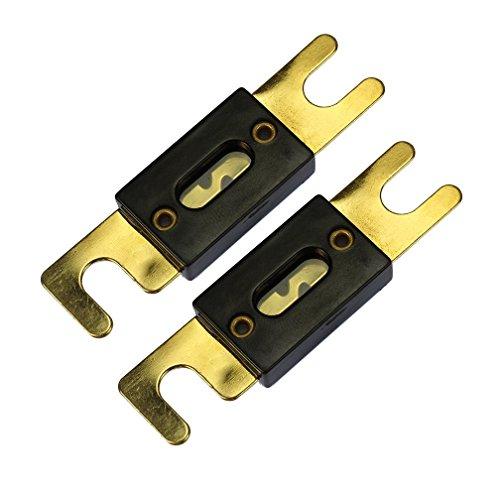 Voodoo 0/2/4 Gauge Ga ANL Fuse Holder + 500 Amp ANL Fuses (2 Pack) by VOODOO (Image #9)