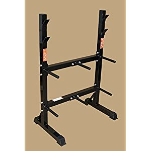TDS Front Loading Rack System for Standard Plates & Bars