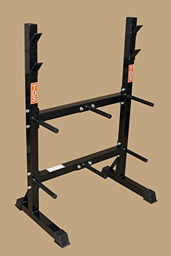 TDS-Front Loading Rack System for Standard Plates & Bars by TDS