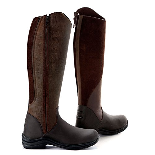 Toggi Quartz Brown Boots Long Riding OdOXxfr