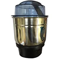 HATIMI'S Branded Chutney Attachment Mixer Jar (650 ML) for Dry Grinding, Spices, Dals, Roasted Coffee Beans etc.