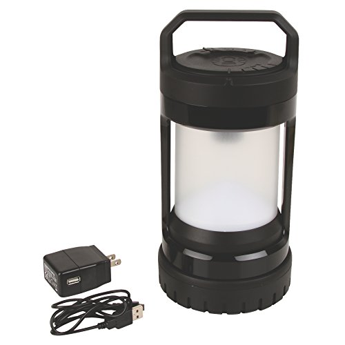 Coleman Divide+ Spin 525 lm Rechargeable LED Lantern with Battery Lock